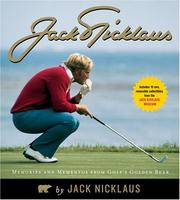 Cover of: Jack Nicklaus | Jack Nicklaus