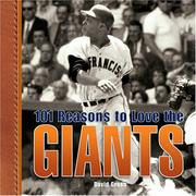 Cover of: 101 Reasons to Love the Giants | David Green