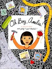 Cover of: Oh boy, Amelia!