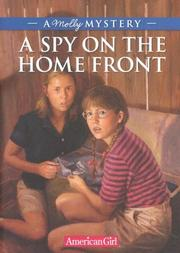 Cover of: A spy on the home front