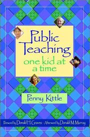 Cover of: Public Teaching | Penny Kittle