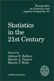 Cover of: Statistics in the 21st Century (Monographs on Statistics and Applied Probability) |