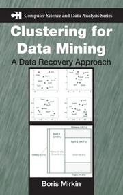 Cover of: Clustering for Data Mining | Boris Mirkin