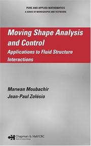 Cover of: Moving Shape Analysis and Control | Marwan Moubachir