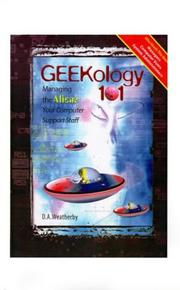 Cover of: Geekology 101