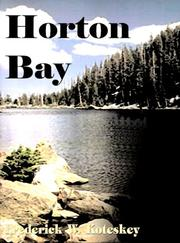 Cover of: Horton Bay | Fred Koteskey