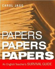 Cover of: Papers, Papers, Papers: An English Teacher's Survival Guide