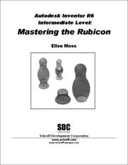 Cover of: Autodesk Inventor R6 Intermediate Level | Elise Moss