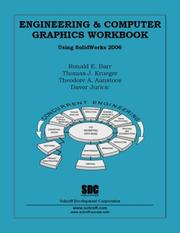 Cover of: Engineering and Computer Graphics Workbook Using SolidWorks 2006 | Ronald Barr