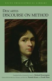 Cover of: Descartes | RenГ© Descartes