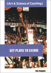 Cover of: Set Plays to Score