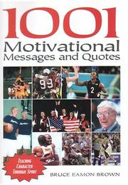 Cover of: 1001 Motivational Messages and Quotations for Athletes and Coaches