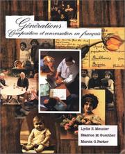 Cover of: Générations