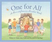 Cover of: One for all | Trinka Hakes Noble