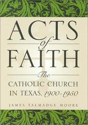 Cover of: Acts of Faith | James T. Moore