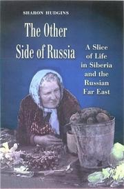Cover of: The other side of Russia | Sharon Hudgins