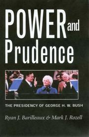 Cover of: Power and prudence