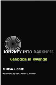 Cover of: Journey into darkness | Thomas P. Odom