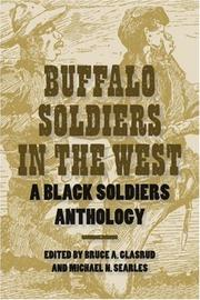 Cover of: Buffalo Soldiers in the West |