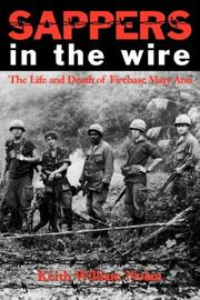 Cover of: Sappers in the Wire | Keith William Nolan