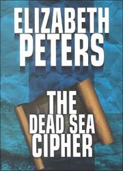 Cover of: The Dead Sea cipher