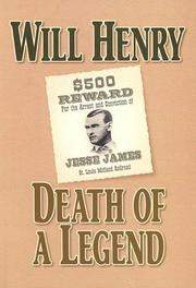 Cover of: Death of a legend: Jesse James