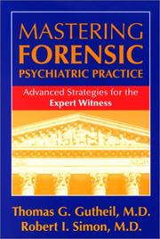 Cover of: Mastering forensic psychiatric practice