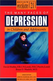 Cover of: The many faces of depression in children and adolesents |