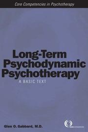 Cover of: Long-Term Psychodynamic Psychotherapy