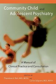 Cover of: Community Child and Adolescent Psychiatry |