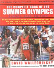 Cover of: The complete book of the Summer Olympics