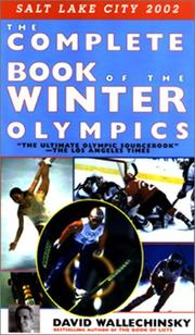 Cover of: The complete book of the Winter Olympics