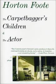 Cover of: The carpetbagger's children