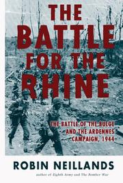 Cover of: The Battle for the Rhine