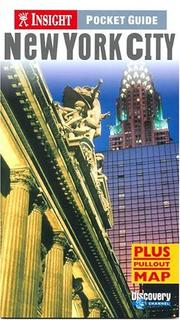 Cover of: Insight Pocket Guide New York City | John Gattuso