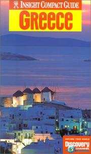Cover of: Insight Compact Guide Greece (Insight Compact Guides) | Claudia Christoffel-Crispin