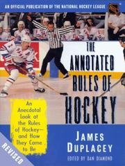 Cover of: The official rules of hockey