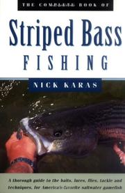 Cover of: The Complete Book of Striped Bass Fishing