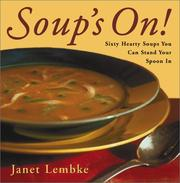 Cover of: Soup's On!