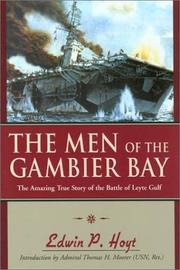 Cover of: The men of the Gambier Bay