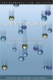 Cover of: Wet growth |