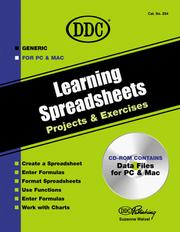 Cover of: Learning Spreadsheets Projects and Exercises (Generic)