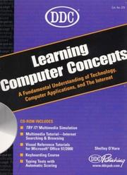 Cover of: DDC Learning Computer Concepts
