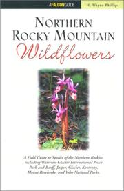 Cover of: Northern Rocky mountain wildflowers