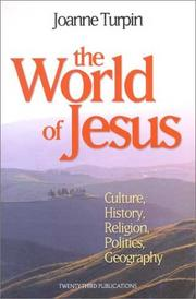 Cover of: The World of Jesus | Joanne Turpin