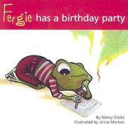 Cover of: Fergie Has a Birthday Party (Adventures of Fergie) | Nancy Cocks