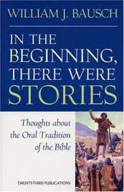 Cover of: In the Beginning, There Were Stories