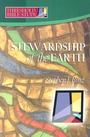 Cover of: Threshold Bible Study | Stephen J. Binz