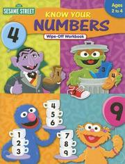 Cover of: Know Your Numbers (Sesame Street) |