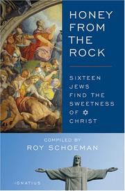 Cover of: Honey from the Rock | Roy Schoeman
